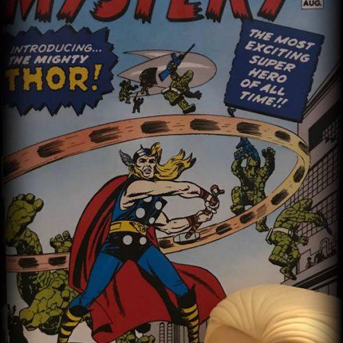 """""""Wieviel Gott steckt in der Comicfigur Thor?""""  Außerirdische Göttergestalten in der Welt der Asen. Eine Zeitreise von der nordischen Mythologie bis zum amerikanischen Massenmedium"""