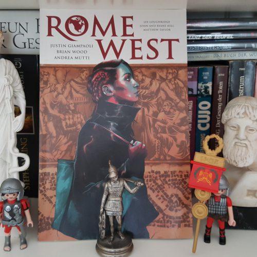 Als die Römer Amerika entdeckten - Rome West (Comic)