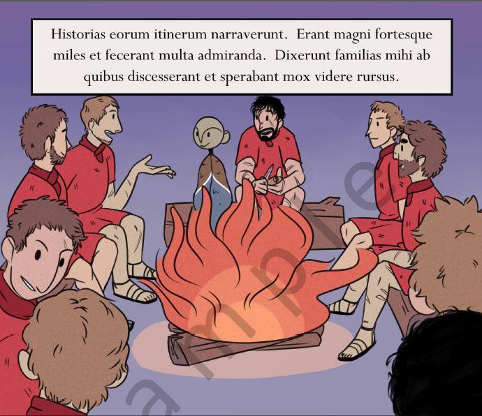 Latin Grafic novel