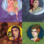 Griechische Göttinnen - Entworfen von Sara Drake