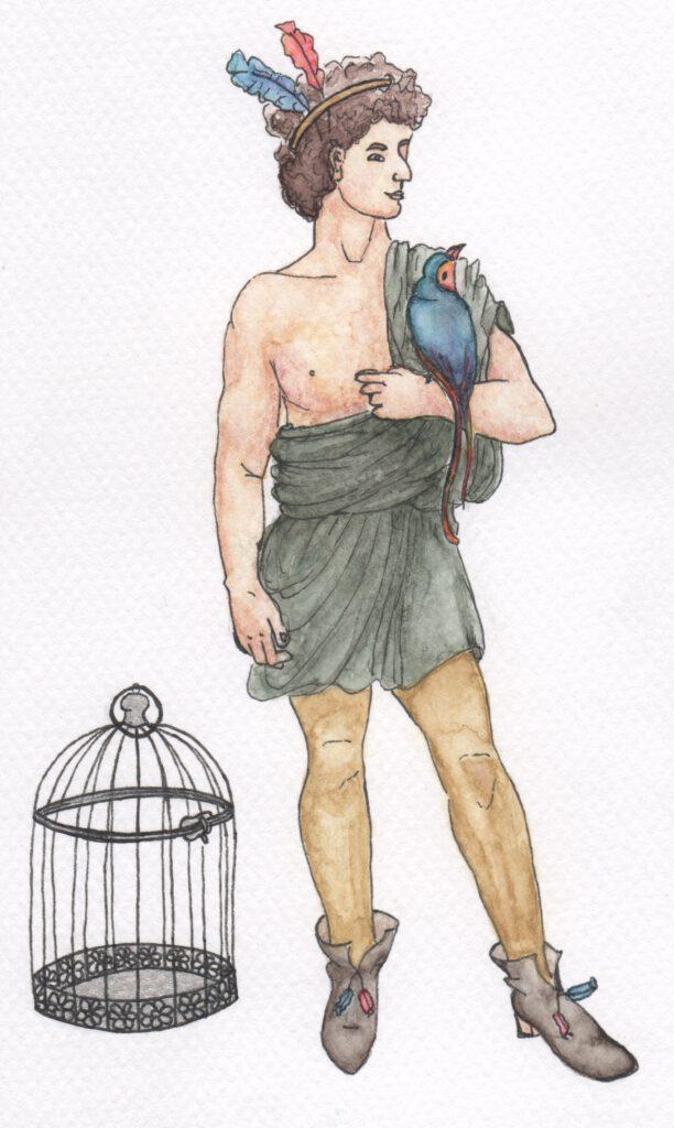 Papageno Zauberflöte