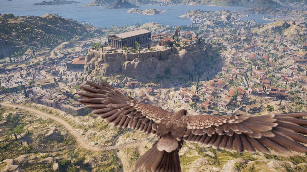 Akropolis in Assassin's Creed Odyssey