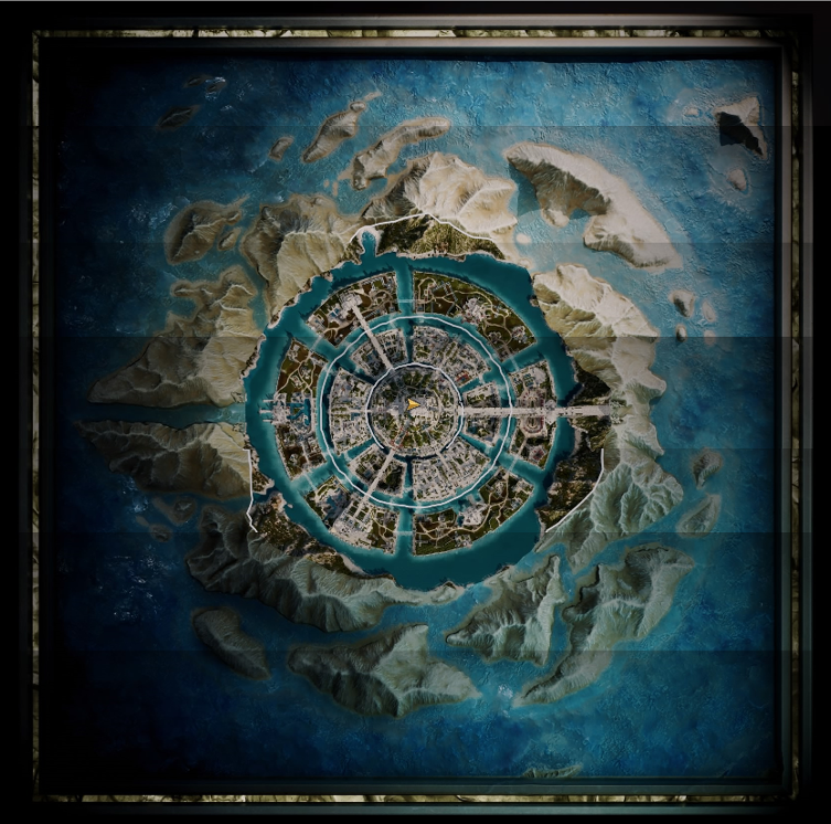 Atlantis in Assassins's Creed Odyssey