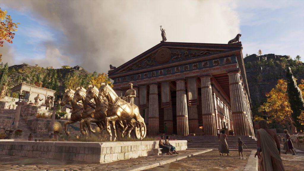 Orakel von Delphi Assassin's Creed Odyssey