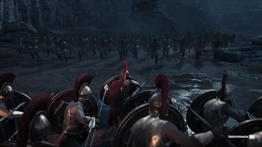 Thermopylen Assassin's Creed Odyssey